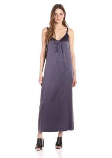 Vince Women's Pleat Neck Slip Dress  M