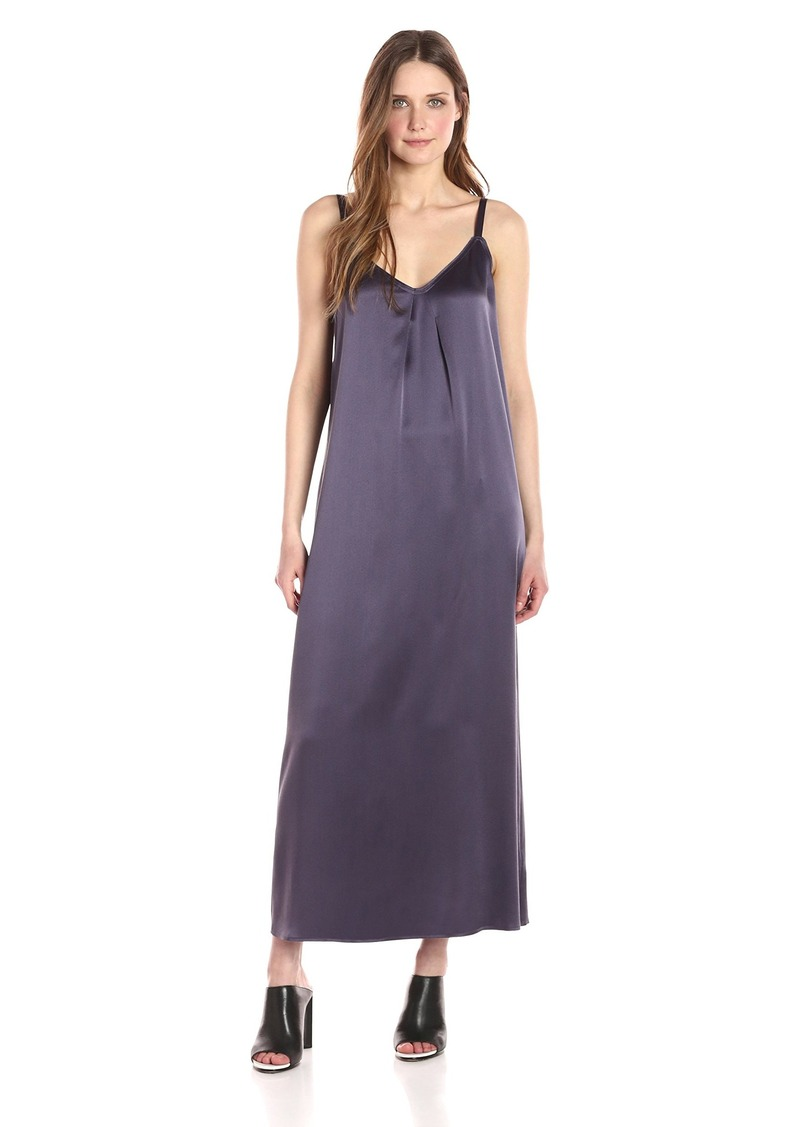 Vince Women's Pleat Neck Slip Dress  S