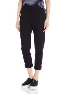 Vince Women's Pull-on Tapered Trouser  L