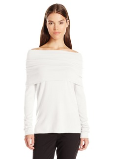 Vince Women's Relaxed Shoulder Pullover