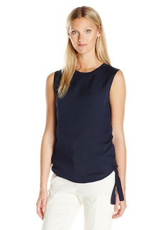 Vince Women's Rouched Rib Tank