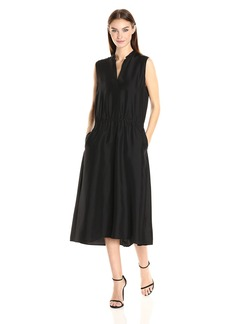 Vince Women's Rouched Sleeveless Dress  S