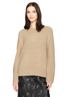 Vince Women's Saddle SLV Pullover  XS