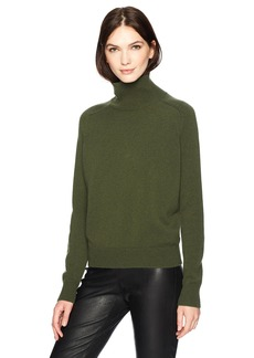 Vince Women's Saddle Turtleneck  L