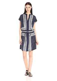 Vince Women's Scarf Print Dress