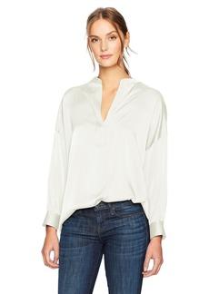 Vince Women's Shirred Drape Pullover  L