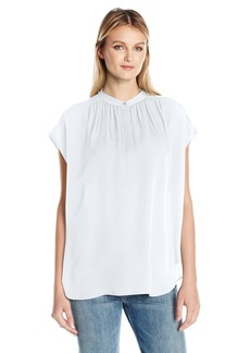 Vince Women's Shirred NK Pullover  M