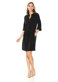 Vince Women's Shirred Sleeve Dress  M