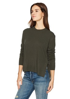 Vince Women's Side Tie Crew Sweater  M