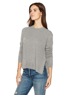 Vince Women's Side Tie Crew Sweater  XS