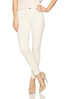 Vince Women's Skinny Military Pant Bleached Denim