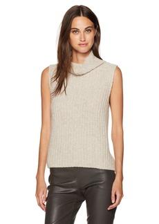 Vince Women's Sleeveless Turtleneck Sweater  XS
