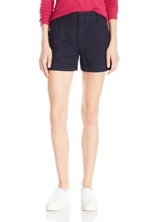 Vince Women's Slouchy Rolled Cuff Shorts