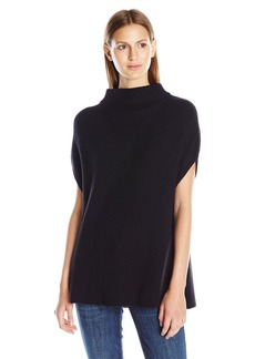 Vince Women's Slvls Turtleneck with Panel Sides