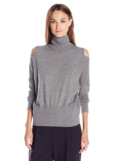 Vince Women's Split Shoulder Turtleneck