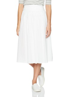 Vince Women's Stitch Pleating Wrap Skirt  S