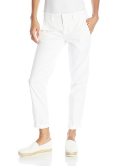 Vince Women's Stretch Twill Boyfriend Trouser