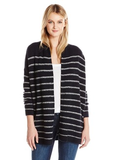 Vince Women's Stripe Cardigan/V406777223-m-967cow  S