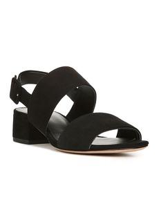 Vince Women's Taye Suede Mid Heel Sandals