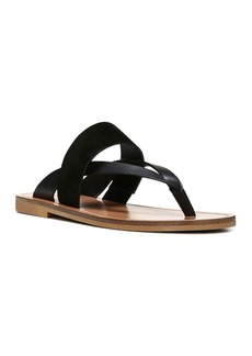 Vince Women's Tess Leather and Suede Thong Sandals
