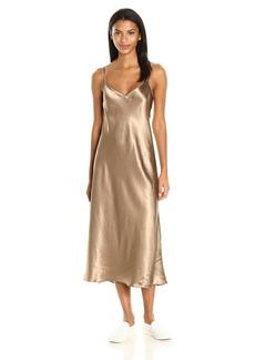 Vince Women's V-Neck Slip Dress  L