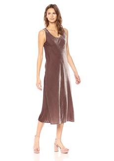 Vince Women's Velvet Tank Dress  L
