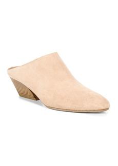 Vince Women's Vigo Suede Block Heel Mules