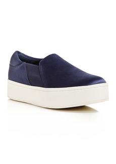 Vince Women's Warren Satin Slip-On Platform Sneakers