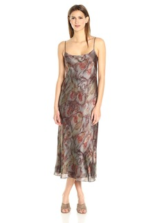 Vince Women's Watercolor Print Slip Dress  S