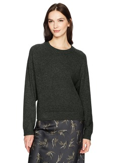 Vince Women's Wide Saddle Pullover Sweater  L