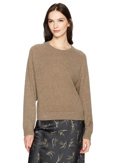 Vince Women's Wide Saddle Pullover Sweater  M