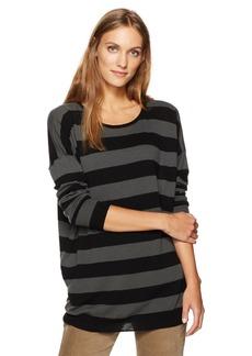 Vince Women's Wide Stripe L/s Top  M