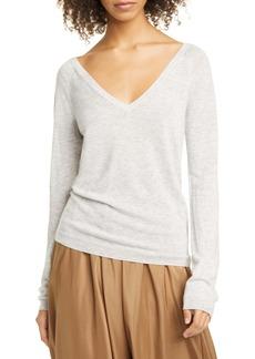 Vince Wool & Cashmere Blend V-Neck Sweater