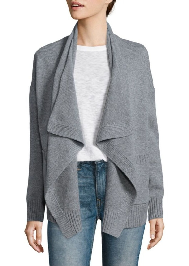 Vince Vince Wool & Cashmere Draped Cardigan | Sweaters - Shop It To Me