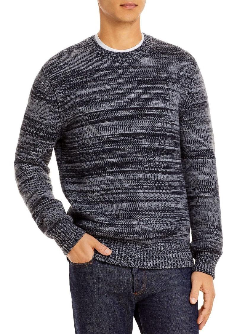 Vince Wool & Cashmere Marled Slim Fit Crewneck Sweater