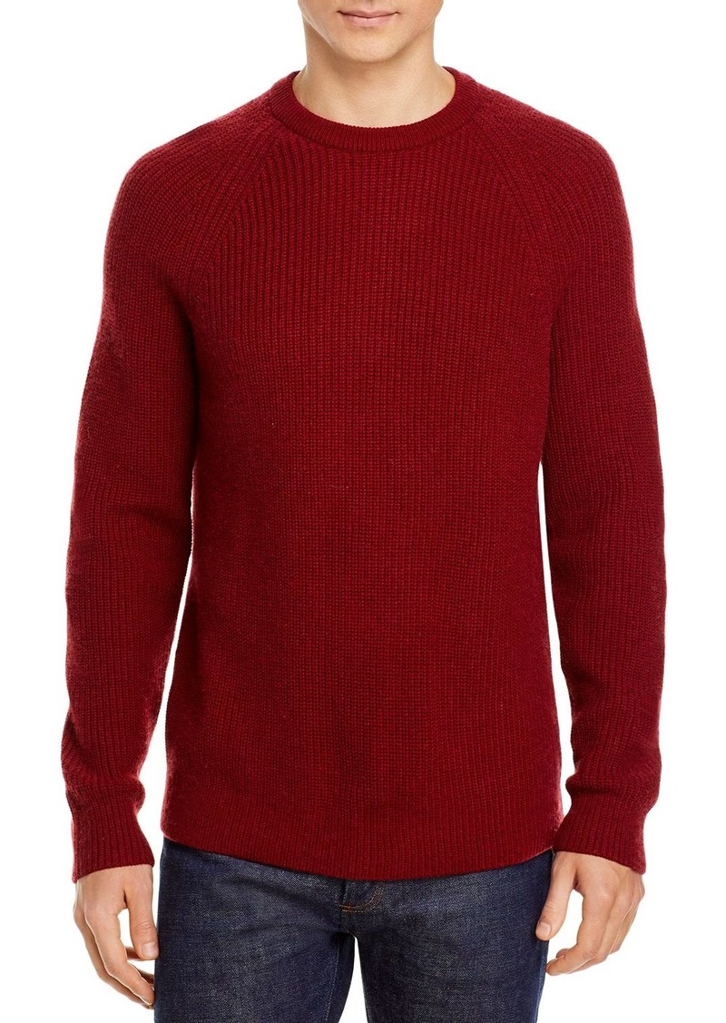 Vince Wool & Cashmere Ribbed Knit Slim Fit Crewneck Sweater
