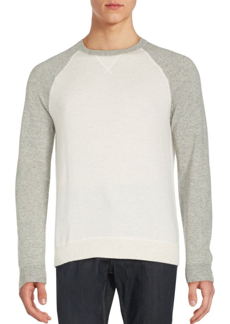 Vince Wool & Cashmere Ribbed Sweater