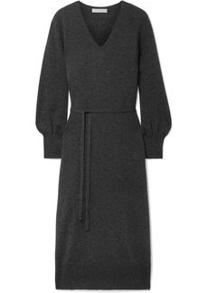 Vince Wool and cashmere-blend midi dress