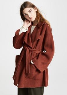 Vince Wool Blanket Coat