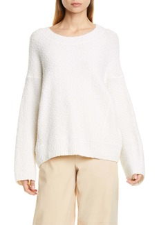 Vince Wool Blend Bouclé Sweater