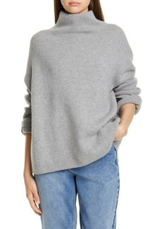Vince Wool Blend Funnel Neck Pullover
