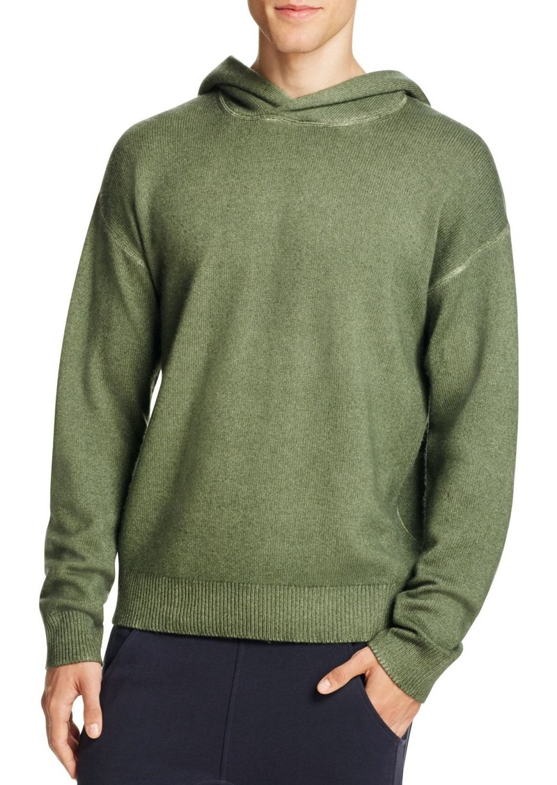 Vince Vince Wool Cashmere Pullover Hoodie Sweater | Sweaters ...