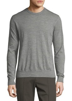 Vince Wool Striped Crewneck Sweater