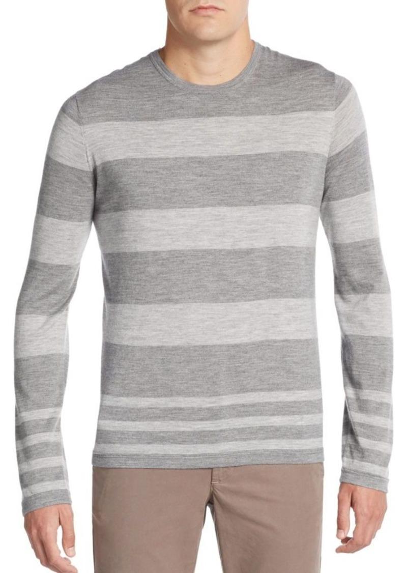 Vince Striped Crewneck Sweater
