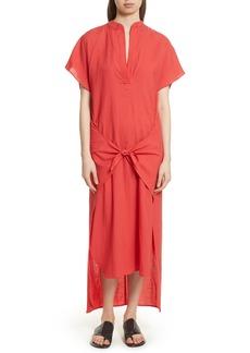 Vince Wrap Front Maxi Dress