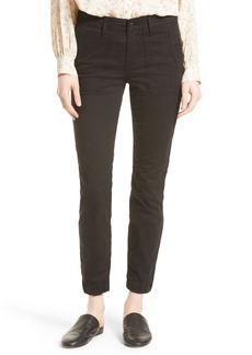 Vince Zip Ankle Utility Pants