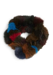 Vincent Pradier Genuine Fox Fur Scarf