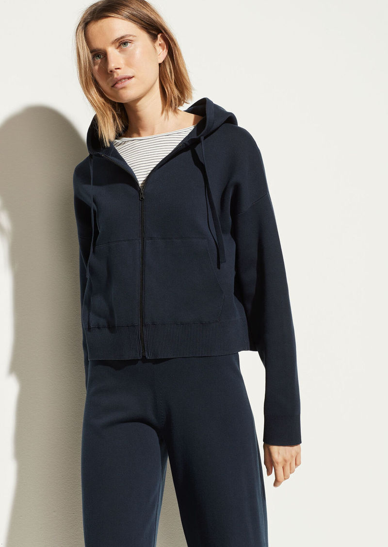 Vince Washed Cotton Hoodie
