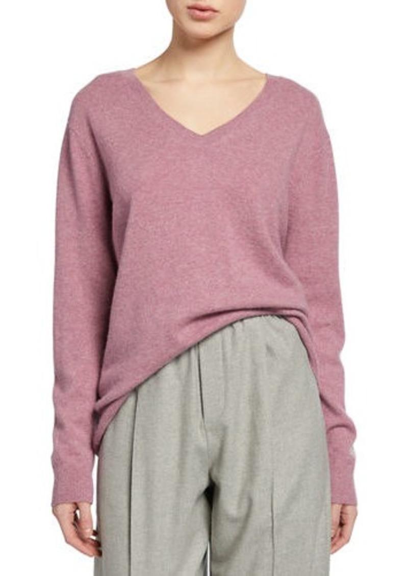 Vince Weekend Cashmere V-Neck Sweater