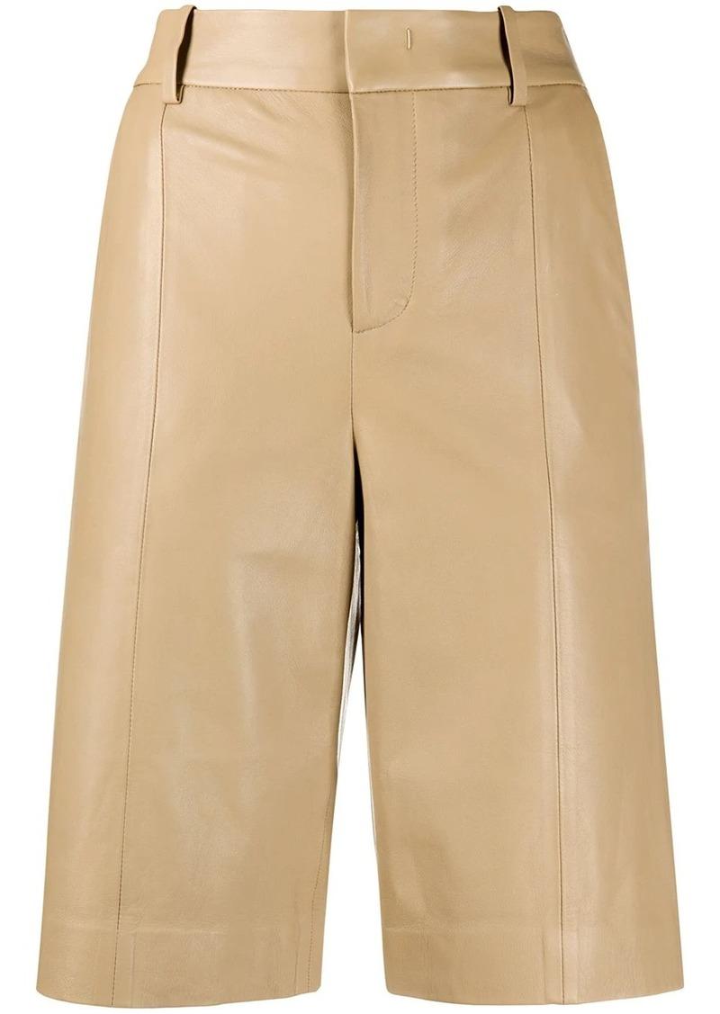 Vince wide leg bermuda shorts